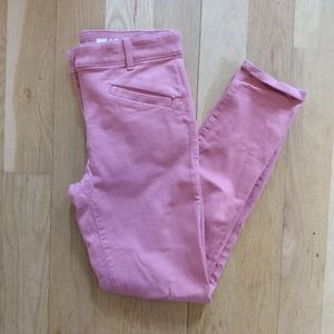 Gap Skinny Crop Pink Pants